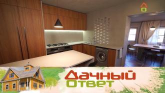 Выпуск от 15 ноября 2020 года.Минималистичная кухня и столовая в спокойных тонах для большой семьи.НТВ.Ru: новости, видео, программы телеканала НТВ