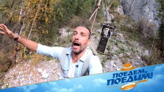 Там даже мох невероятно красивый! Федерико Арнальди и«Поедем, поедим!» вГорном Алтае— 28ноября на НТВ
