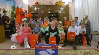 Всероссийский Дед Мороз исполнил мечты талантливых ребят из Сыктывкара иСамары