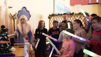 Дед Мороз подарил новогоднее чудо детям из Сочи иБарнаула
