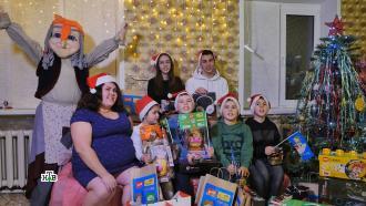 Дедушка Мороз наколдовал волшебный антициклон подарков для детей из Казани иВоронежа