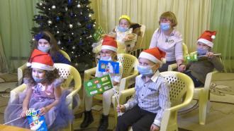 Волшебство праздника: Дедушка Мороз осуществил мечты детей из Саранска иСочи