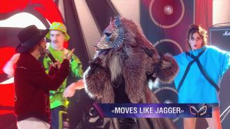 Волк и Тимур Родригез: Moves Like Jagger