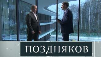 Эксклюзивное интервью заместителя председателя правительства Российской Федерации Юрия Трунтева— впонедельник на НТВ