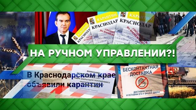 Выпуск от 8 апреля 2020 года.На ручном управлении?!НТВ.Ru: новости, видео, программы телеканала НТВ
