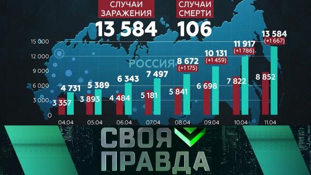 Выпуск от 11 апреля 2020 года.Война на два фронта.НТВ.Ru: новости, видео, программы телеканала НТВ
