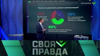 Выпуск от 25 апреля 2020 года.Курс на плато.НТВ.Ru: новости, видео, программы телеканала НТВ