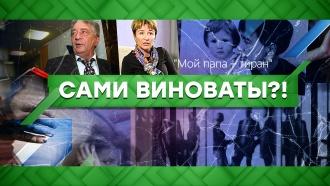 Выпуск от 5июня 2020года.Сами виноваты?!НТВ.Ru: новости, видео, программы телеканала НТВ
