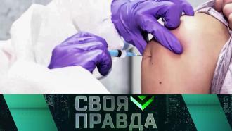 Когда начнется массовая вакцинация ипочему американские биолаборатории стоят уроссийских границ? «Своя правда»— впятницу на НТВ