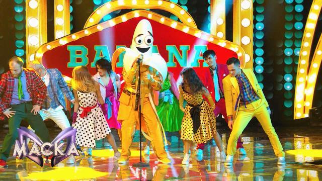 Банановое буги-вуги заставило плясать всех зрителей встудии «Маски».НТВ.Ru: новости, видео, программы телеканала НТВ