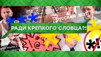 Выпуск от 19марта 2021года.Ради крепкого словца?!НТВ.Ru: новости, видео, программы телеканала НТВ