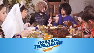 Выпуск от 3 апреля 2021 года.Дагестан: праздник Первой борозды, лезгинка итрадиционное мясо на камнях.НТВ.Ru: новости, видео, программы телеканала НТВ
