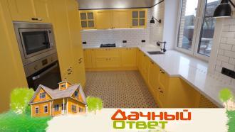 Кухня игостиная взагородном доме систорией— ввоскресенье в«Дачном ответе»