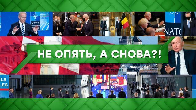 Выпуск от 15июня 2021года.Не опять, аснова?!НТВ.Ru: новости, видео, программы телеканала НТВ