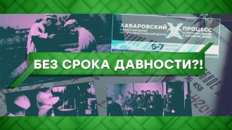 Выпуск от 7 сентября 2021 года.Без срока давности?!НТВ.Ru: новости, видео, программы телеканала НТВ